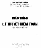 Giáo trình Lý thuyết kiểm toán: Phần 1 - TS. Nguyễn Viết Lợi, ThS. Đậu Ngọc Châu (chủ biên)