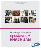 Ebook Tiêu chuẩn nghề Du lịch Việt Nam - Quản lý khách sạn: Phần 2