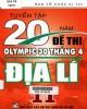 Ebook Tuyển tập 20 năm đề thi Olympic 30 tháng 4 Địa lý 11: Phần 2
