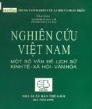 Ebook Nghiên cứu Việt Nam - Một số vấn đề lịch sử, kinh tế, xã hội, văn hóa: Phần 1