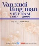 Ebook Văn xuôi lãng mạn Việt Nam 1887-2000 (Tập III - 1946-1997: Quyển 3): Phần 2