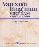 Ebook Văn xuôi lãng mạn Việt Nam 1887-2000 (Tập II - 1933-1945: Quyển 4): Phần 2