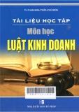 Tài liệu học tập môn học luật kinh doanh