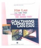 Ebook Kim loại trong nghệ thuật trang trí nội ngoại thất - Các loại cầu thang, tường rào lan can: Phần 1 - Nguyễn Kim Dân
