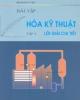 Giáo trình Bài tập Hóa kỹ thuật (Tập 2) - Phạm Hùng Việt