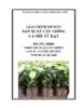 Giáo trình Sản xuất cây giống cà phê từ hạt - MĐ04: Nghề sản xuất cây giống cao su, cà phê, hồ tiêu