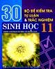 Ebook 30 bộ đề kiểm tra tự luận và trắc nghiệm Sinh học 11 (dùng cho ban cơ bản và nâng cao): Phần 1