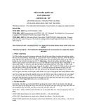 Tiêu chuẩn Quốc gia TCVN 2694:2007