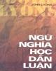 Ebook Ngữ nghĩa học dẫn luận - Nguyễn Văn Hiệp (dịch)