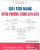 Ebook Giải tích mạng bằng phương trình căn bản - Nguyễn Vinh Quang (biên soạn)