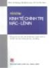 Ebook Hỏi và đáp Kinh tế chính trị Mác - Lênin - NXB Chính trị Hành chính
