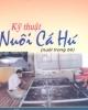 Ebook Kỹ thuật nuôi cá hú (nuôi trong bè) - Phạm Văn Khánh