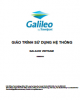 Giáo trình Sử dụng hệ thống Galileo Vietnam: Phần 2