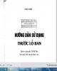 Ebook Hướng dẫn sử dụng thước lỗ ban: Phần 2