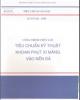 Ebook Tiêu chuẩn ngành 14 TCN 82 – 1995: Phần 1 – Bộ Nông nghiệp và phát triển nông thôn