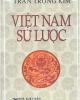 Ebook Việt Nam sử lược - NXB Tổng hợp TP.HCM