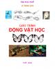 Giáo trình Động vật học - Lê Trọng Sơn