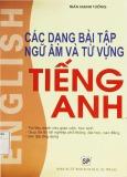 Ebook các dạng bài tập ngữ âm và từ vựng Tiếng Anh - Trần Mạnh Tường