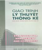 Giáo trình Lý thuyết thống kê: Phần 1 - Hà Văn Sơn