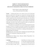 NGHIÊN CỨU TÍNH ỔN ĐỊNH KHI PHANH  ĐỐI VỚI LOẠI XE KHÁCH GIƯỜNG NẰM : RESEARCH ON THE BRAKING STABILITY OF THACO MOBIHOME