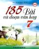Ebook 135 bài và đoạn văn hay lớp 7: Phần 2