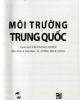 Ebook Môi trường Trung Quốc: Phần 1 - Lưu Quân Hội, Vương Giai