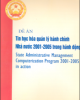 Ebook Đề án Tin học khóa quản lý hành chính Nhà nước 2001- 2005 trong hành động: Phần 1 - TS. Vũ Đình Thuần (chủ biên)