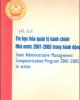 Ebook Đề án Tin học khóa quản lý hành chính Nhà nước 2001- 2005 trong hành động: Phần 2 - TS. Vũ Đình Thuần (chủ biên)