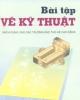 Ebook Bài tập Vẽ kỹ thuật - PGS. Trần Hữu Quế, GVC. Nguyễn Văn Tuấn