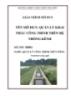Giáo trình Quản lý khai thác công trình trên hệ thống kênh - MĐ02: Quản lý công trình thủy nông