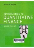 Introduction to quantitative finance : A math tool kit