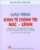 Giáo trình Kinh tế chính trị Mác - Lênin