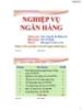 Bài giảng Nghiệp vụ ngân hàng: Chương 1 - Ths.Nguyễn Lê Hồng Vy