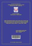 Thiết kế mô hình phân loại và mã hóa chi tiết sản phẩm đồ gỗ nội thất của khối tủ trong xí nghiệp FURNITURE thuộc công ty TNHH Phát Triển