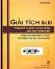 Ebook Bài tập giải sẵn Giải tích II & III - Trần Bình