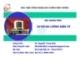 Bài giảng môn Cơ sở đo lường điện tử - Nguyễn Trung Hiếu