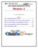 Giáo trình Lập trình Window Phone (Module 2) - Trung tâm tin học ĐH KHTN