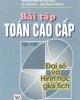 Ebook Bài tập Toán cao cấp (Tập 1) - NXB Giáo dục