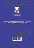 Quy trình kiểm toán tài sản cố định tại công ty TNHH kiểm toán tư vấn Rồng Việt