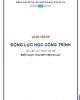 Giáo trình Động lực học công trình - Nguyễn Thị Tố Lan