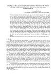GIẢI PHÁP ĐẢM BẢO CHẤT LƯỢNG ĐỘI NGŨ GIÁO VIÊN THEO CHUẨN GIÁO VIÊN DẠY NGHỀ TẠI CÁC TRƯỜNG TRUNG CẤP NGHỀ HẬU GIANG TỈNH HẬU GIANG