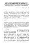 NGHIÊN CỨU PHÁT TRIỂN MÁY PHÁT ĐIỆN GIÓ TRỤC ĐỨNG CÔNG SUẤT NHỎ TỰ ĐIỀU CHỈNH CÁNH THEO HƯỚNG GIÓ