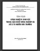 Giáo trình Công nghệ vi sinh vật trong sản xuất nông nghiệp và xử lý ô nhiễm môi trường: Phần 2 - PGS.TS. Nguyễn Xuân Thành (ĐH Nông nghiệp Hà Nội)