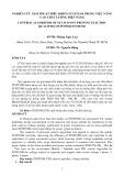 NGHIÊN CỨU GIẢI THUẬT ĐIỀU KHIỂN STATCOM TRONG VIỆC NÂNG CAO CHẤT LƯỢNG ĐIỆN NĂNG