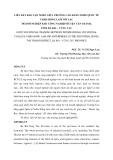 LIÊN KẾT ĐÀO TẠO NGHỀ GIỮA TRƯỜNG CAO ĐẲNG NGHỀ QUỐC TẾ VABIS HỒNG LAM VỚI CÁC  DOANH NGHIỆP KHU CÔNG NGHIỆP HUYỆN TÂN THÀNH, TỈNH BÀ RỊA – VŨNG TÀU