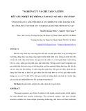 NGHIÊN CỨU VÀ CHẾ TẠO CẢI TIẾN KÉT GIẢI NHIỆT HỆ THỐNG LÀM MÁT XE MÁY EXCITER