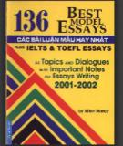 Ebook 136 Best Model Essays - Các bài luận mẫu hay nhất: Phần 1 - MilonNandy
