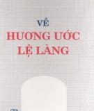Ebook Về hương làng lệ làng - Luật gia Lê Đức Tiết