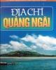 Ebook Địa chí Quảng Ngãi (Phần 1)