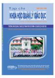 Tạp chí Khoa học quản lý giáo dục